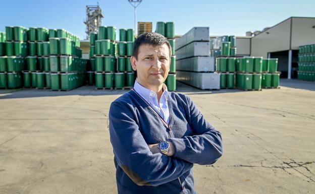 El consejero delegado del Grupo Conesa, Manuel Vázquez