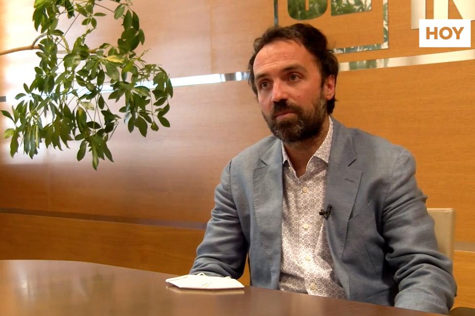 Miguel Ángel Leal, CEO de la división industrial del grupo Cristian Lay